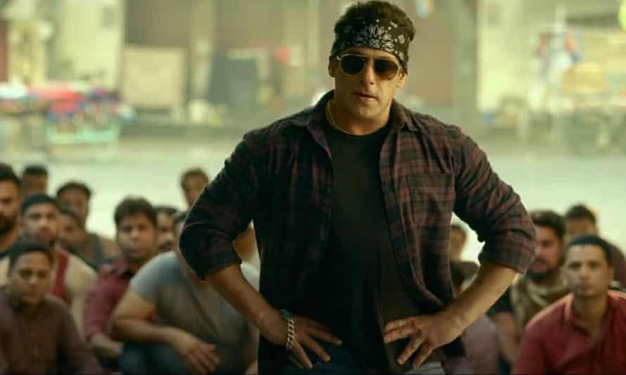 Indomitable ... Salman Khan in Radhe.