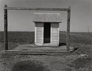 Wright Morris Outhouse Nebraska 1947 C Estate of Wright Morris