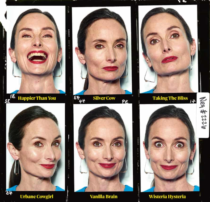 'Don't try to recreate your old poses. Fashion's changed. You've got to show personality': Karen goes through her paces