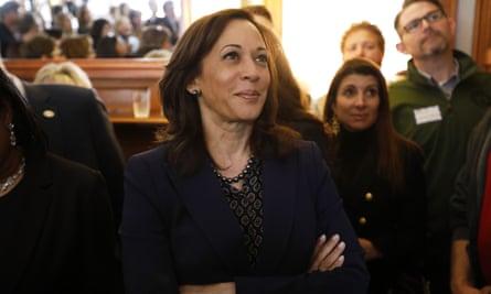 Democratic presidential candidate Kamala Harris.