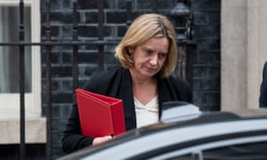 The home secretary, Amber Rudd.