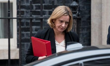 The home secretary, Amber Rudd.