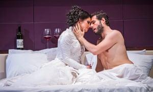 Emőke Baráth as Hipermestra and Raffaele Pe as Linceo.