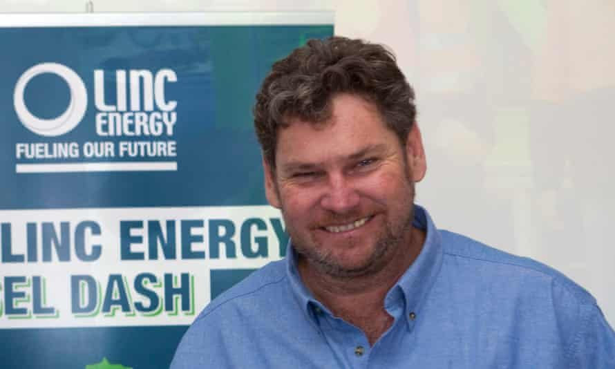 Peter Bond, CEO and founder of Linc Energy