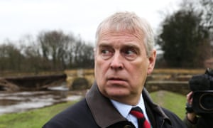 Prince Andrew has been in effect suspended from royal duties.