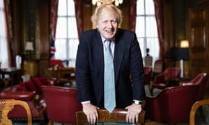 Boris Johnson in the Foreign Office
