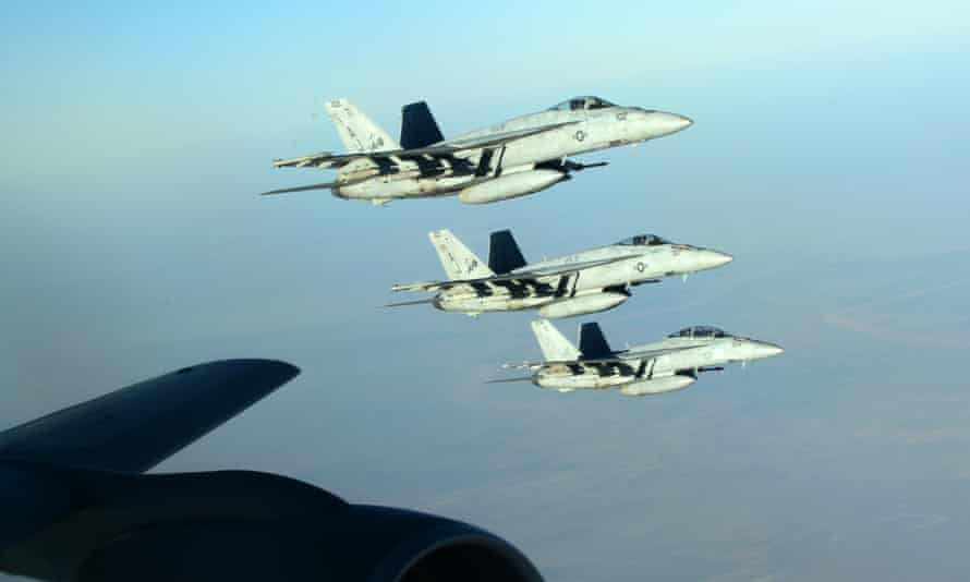 The US has asked Australia to join air strikes against Isis in Syria.