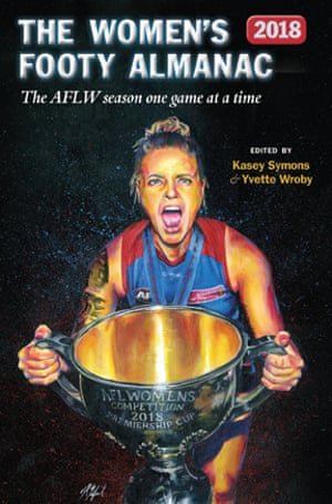 The cover of the Women's Footy Almanac 2018