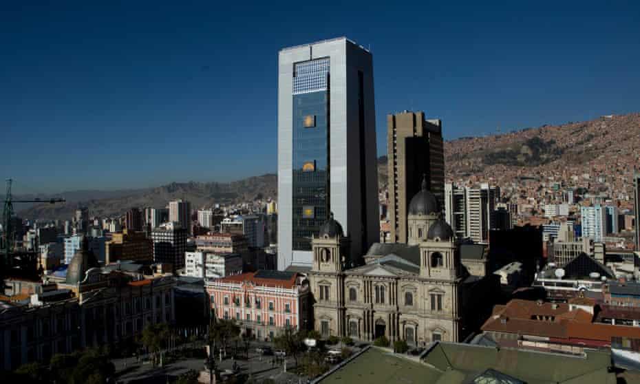 The Casa Grande del Pueblo in La Paz