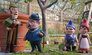Painless matinee viewing … Sherlock Gnomes.