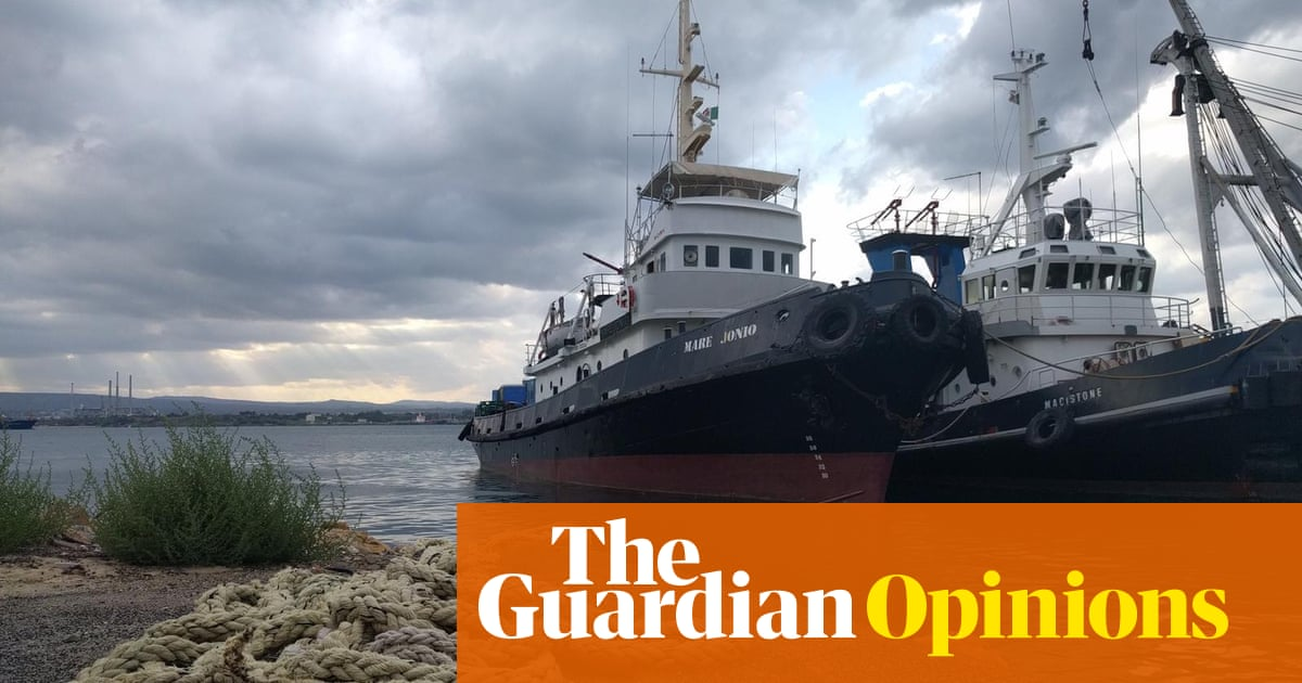 We've launched a migrant rescue ship to resist the racist