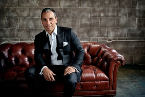 """""""It's been a definite goal of mine to be a little more present,"""" said comic Sebastian Maniscalco."""