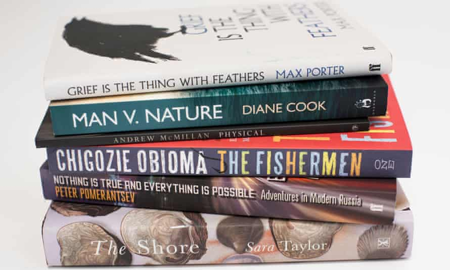 The shortlist for the 2015 Guardian first book award
