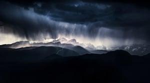 Landscape category winner  A Stormy Day by Ales Krivec (Slovenia)