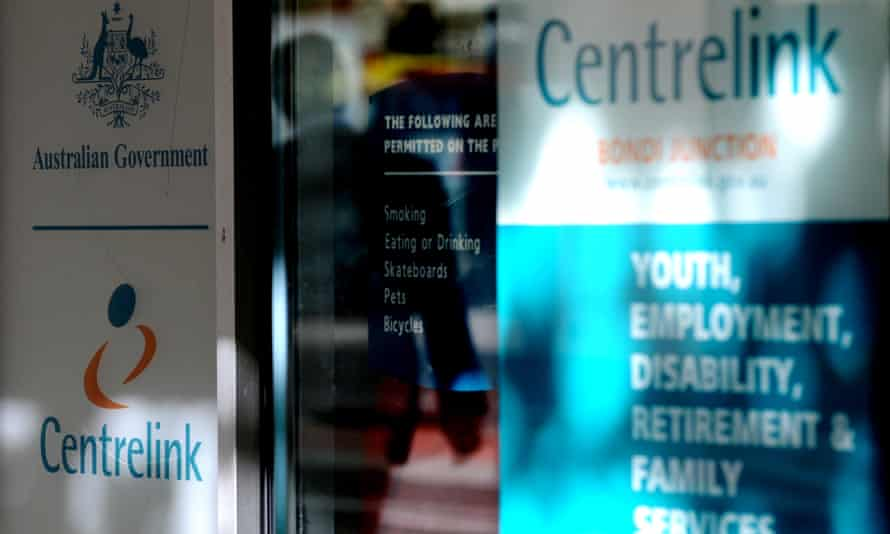 The exterior of a Centrelink office at Bondi Junction