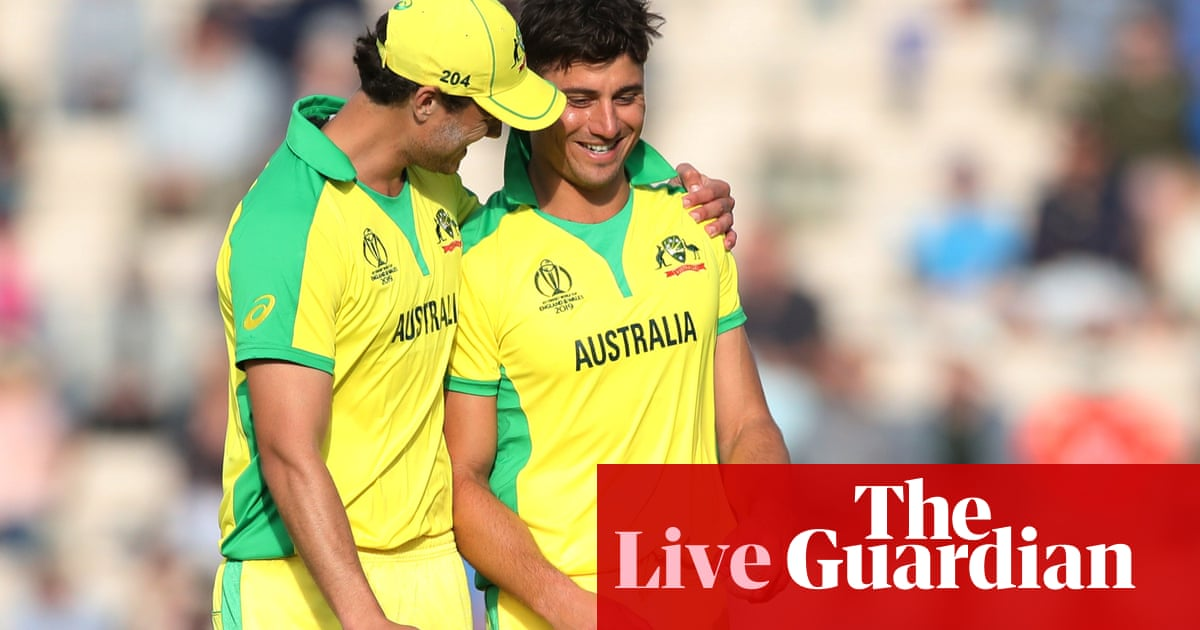 Australia beat England by 12 runs in Cricket World Cup