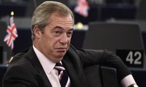 Nigel Farage call Brexit a victory for 'the real people. for the ordinary people, for the decent people'.