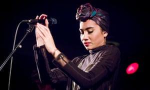 Yuna onstage in Berlin last September.