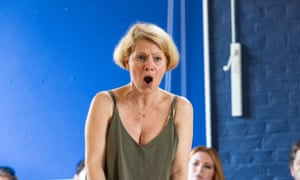 Anne Sophie Duprels in rehearsals for Isabeau.