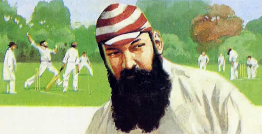 1969 Brooke Bond collectors tea card, depicting: William Gilbert Grace (1848 – 23 October 1915). English amateur cricketer