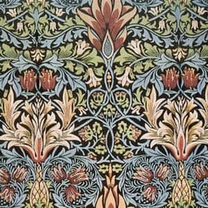 Snakeshead print by William Morris