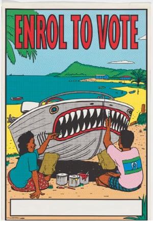 1993 Enrol to Vote Design by Tony Thorne