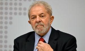 Luiz Inácio Lula da Silva in Brasília, Brazil on 24 April 2017.