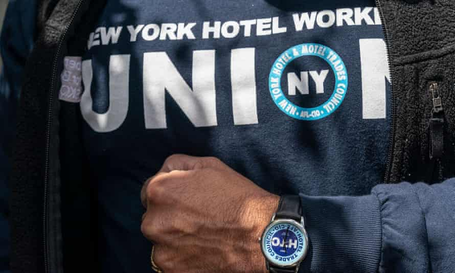 'The shift of public opinion in favor of organized labor comes against a backdrop of decades of declining union membership rates but rising union interest among workers.'