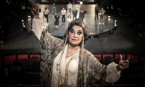 Devotion and despair ... Ria Jones as Norma Desmond in Sunset Boulevard at the Curve, Leicester.
