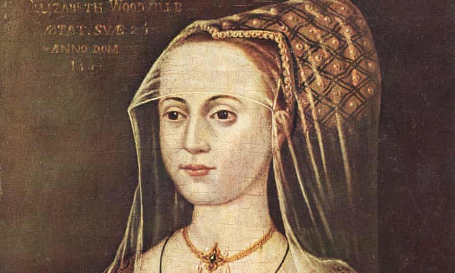 Elizabeth Woodville, depicted in 1463.