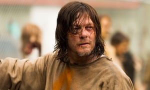 'If you do anything to the kid…' Daryl finds his voice, and uses it to threaten Negan.
