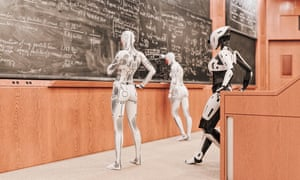 Technological advances could make AI lecturers a common feature at universities in the future.