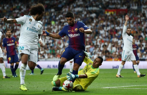 Real Madrid 2-0 Barcelona: Spanish Super Cup, second leg