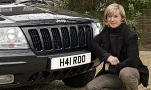 The hairdresser Nicky Clarke with his personalised number plate