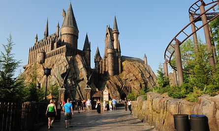 The Wizarding World of Harry Potter theme park in Orlando Florida.