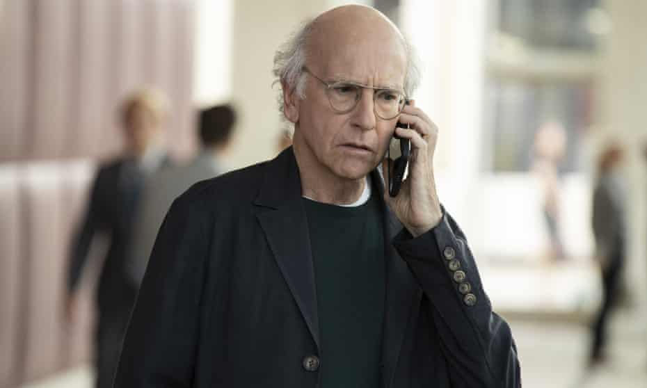 Larry David in Curb Your Enthusiasm, a show that has capialised on increased social tension for laughs.