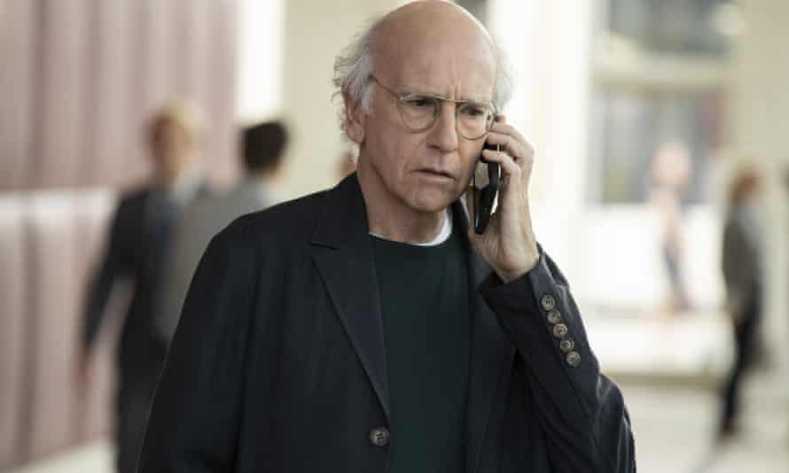 Larry David in Curb Your Enthusiasm.