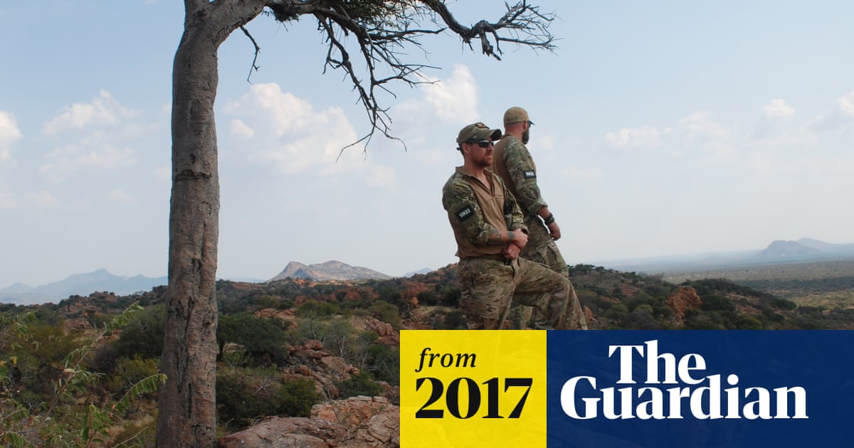 US army veterans find peace in protecting rhinos from poaching