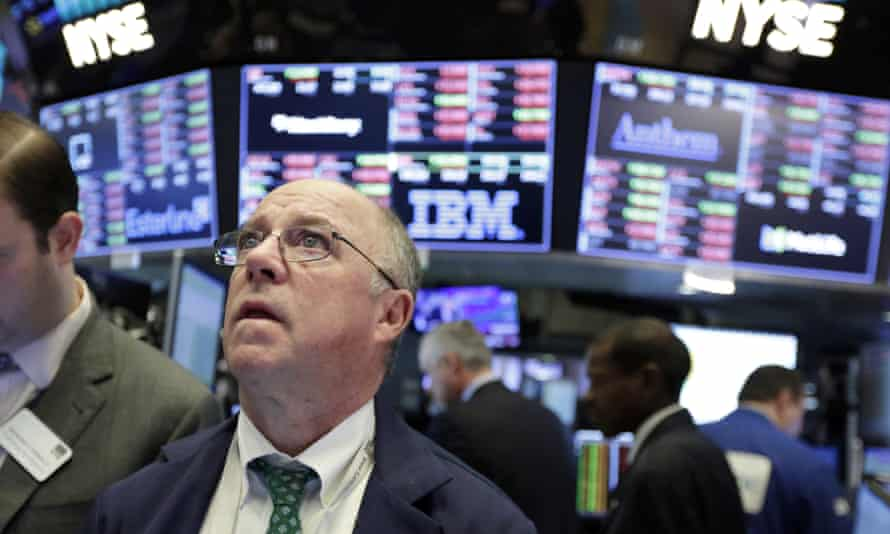 Despite recording its biggest-ever one-day points drop on Monday, the Dow was less than 5% off its record highs in late January.