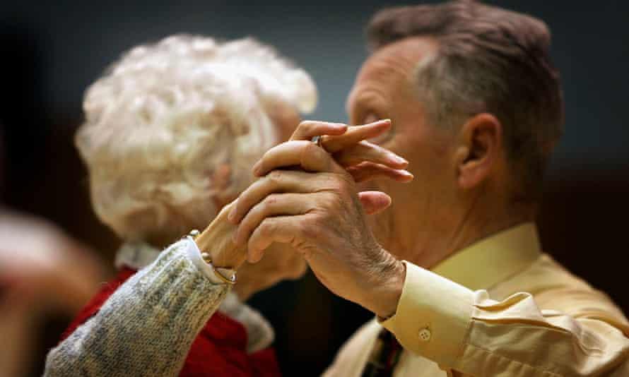 Pensioners tea dance