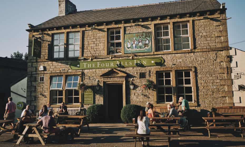 The Four Alls Inn, Higham, Lancashire, UK.