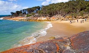Trousers Point beach on Flinders Island