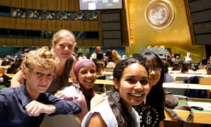 The global launch of the International Year of Youth, in 2010, which focused on the theme of 'dialogue and mutual understanding'.