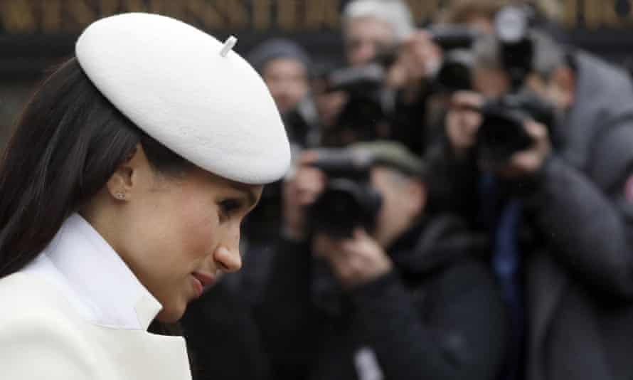 The Duchess of Sussex pictured at Westminster Abbey in March 2018.