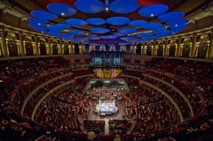 Members of the UK and US Armed Forces go head to head in the Royal Albert Hall cup boxing match in Oct 2011.
