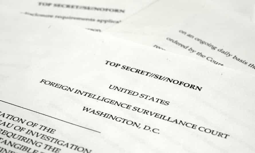 The US foreign intelligence surveillance court papers