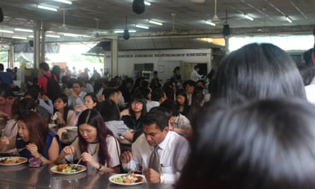 Escape KLCC and eat a monastery buffet with local office workers