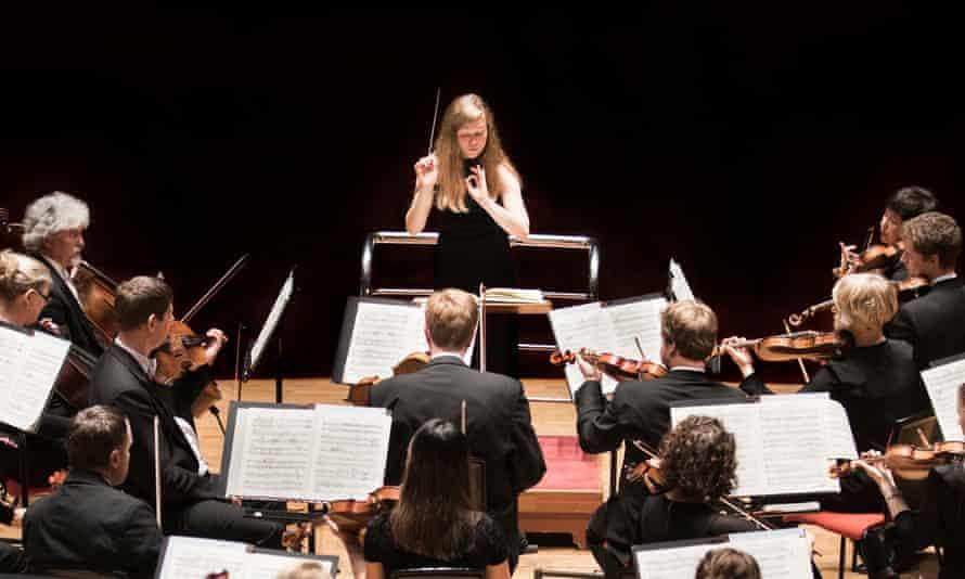 CBSO conducted by Mirga Gražinytė-Tyla.