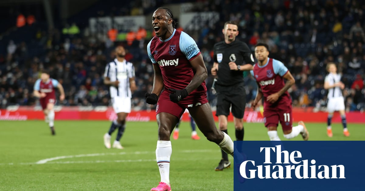 West Ham one step from Europe as Michail Antonio seals win at West Brom