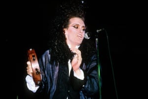 1985 Performing with Dead or Alive